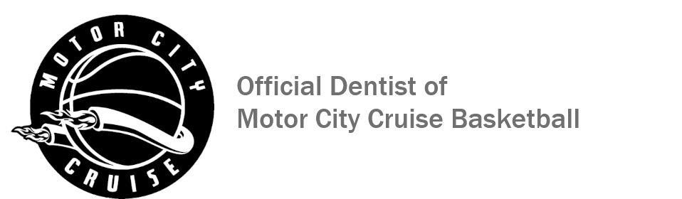 Official Dentist of Motor City Cruise Basketball